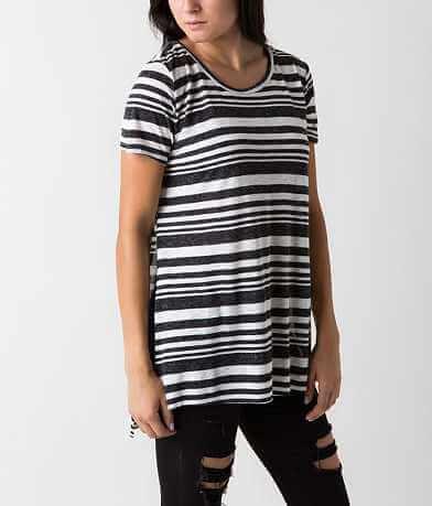 Maronie Striped Top