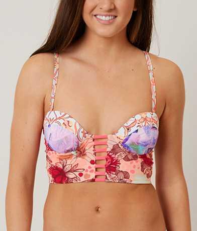 Maaji Floral Expressionism Swimwear Top