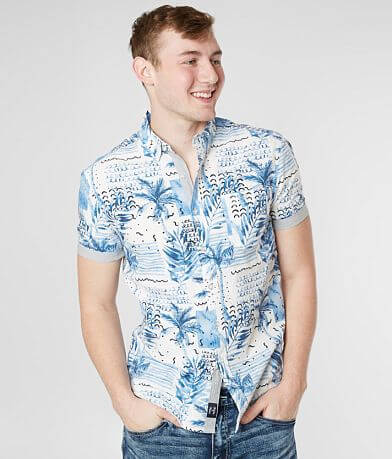 Artistry In Motion Palm Tree Shirt