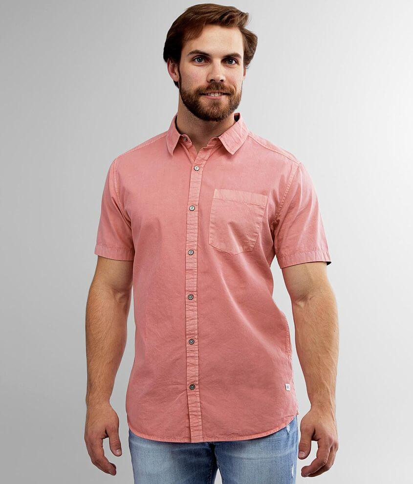 Departwest Washed Pastel Shirt front view