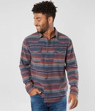 Desperado Striped Flannel Shirt