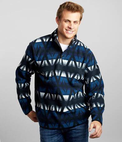 Departwest Printed Fleece Pullover