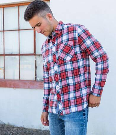 Departwest Washed Flannel Shirt
