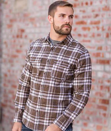 Departwest Plaid Flannel Shirt