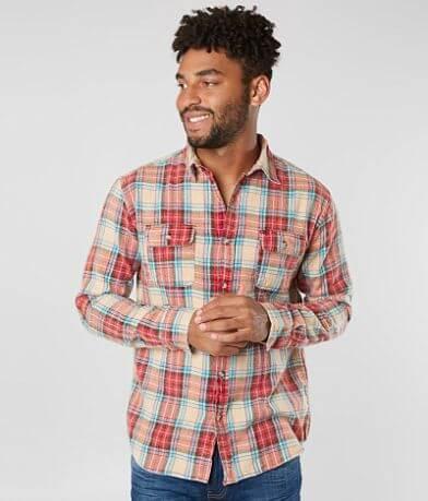 Free Nature Plaid Flannel Shirt