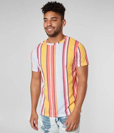 SUPER MASSIVE Vertical Striped T-Shirt