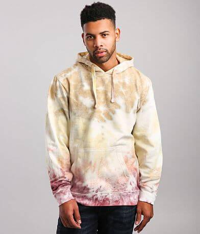 Super Massive Garment Tie Dye Hooded Sweatshirt
