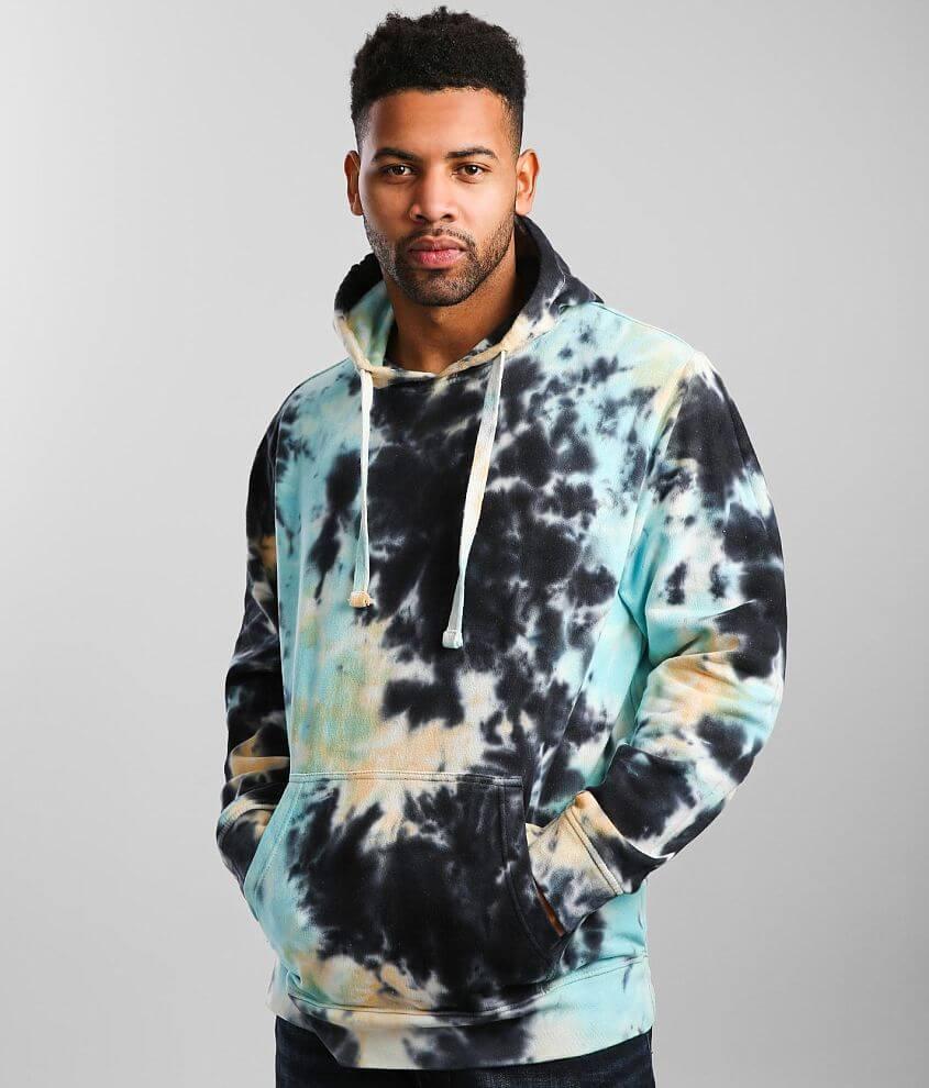 Super Massive Garment Tie Dye Hooded Sweatshirt front view
