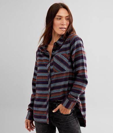 BKE Striped Flannel Shirt