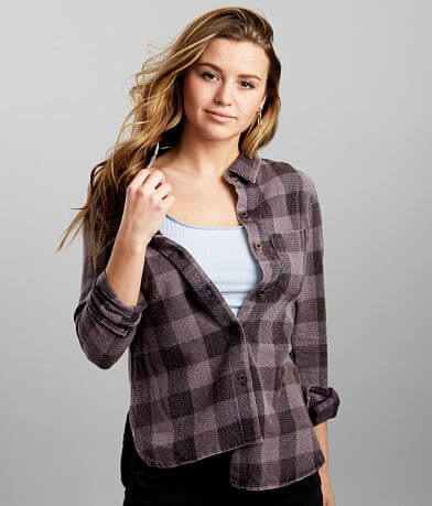BKE Washed Flannel Shirt