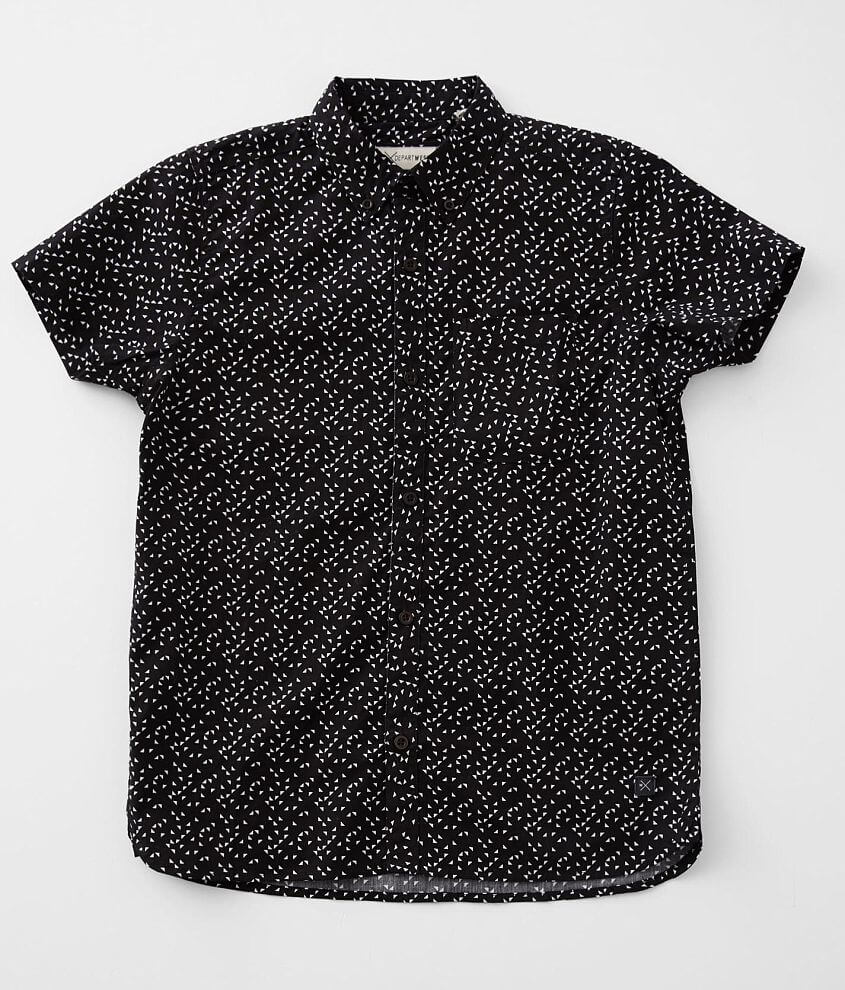 Boys - Departwest Triangle Print Shirt front view