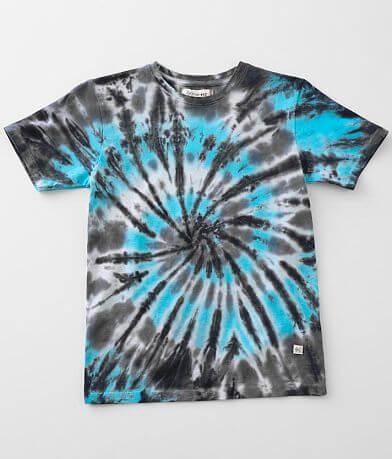 Boys - Departwest Tie-Dye Swirl T-Shirt