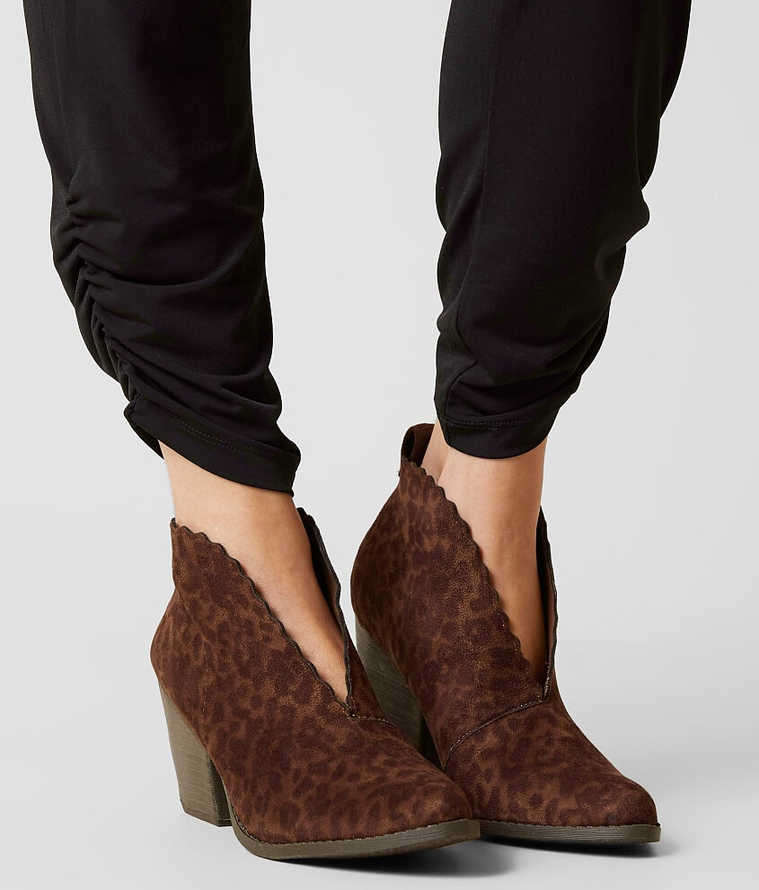 Coconuts By Matisse Addie Ankle Boot - Women's Shoes in Brown Leo | Buckle