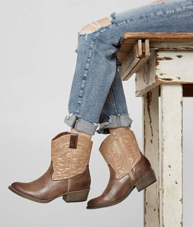 Coconuts Pistol Western Boot