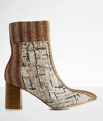 Coconuts Praline Tweed Ankle Boot