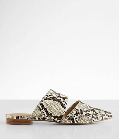 Coconut Shay Snake Print Mule Shoe