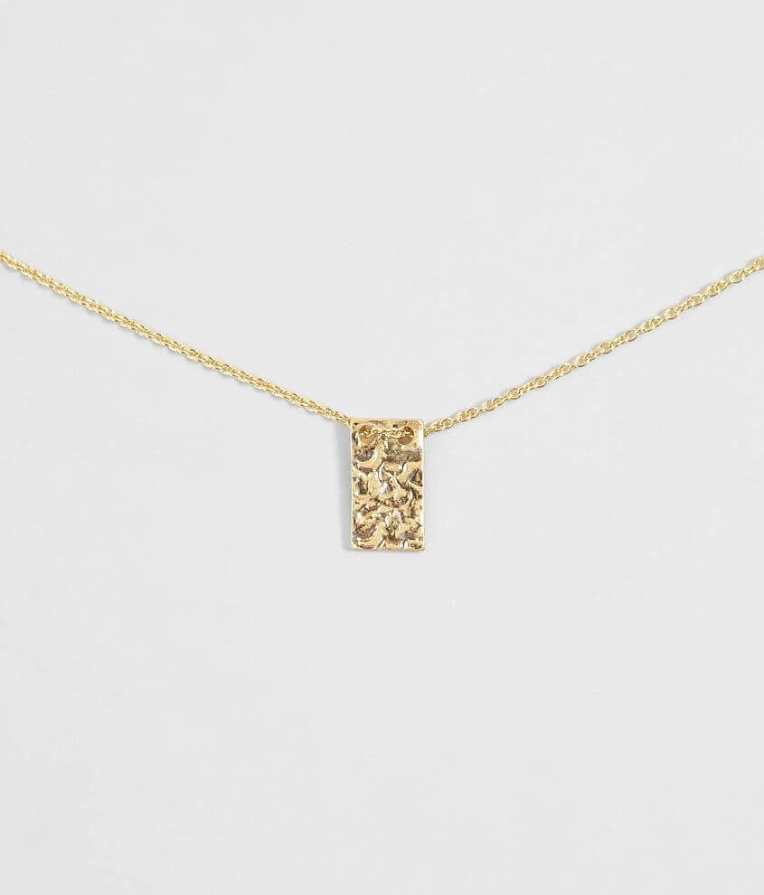 BKE Dainty Tag Necklace