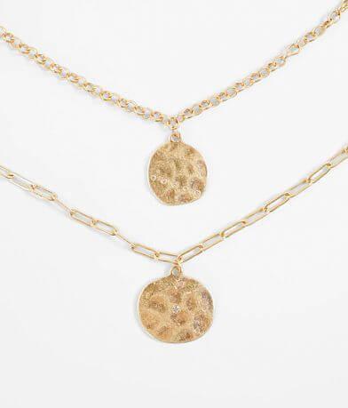 BKE Glitz Necklace Set
