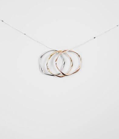 BKE Triple Pendant Necklace