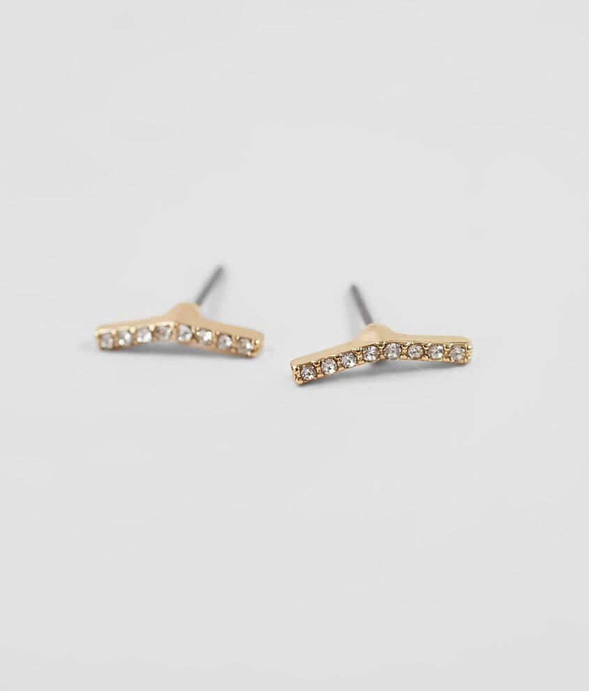 BKE Angled Bar Earring