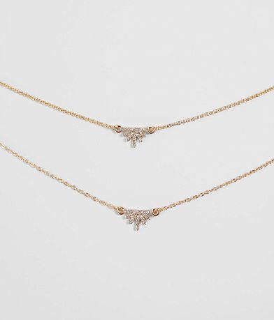 BKE Dainty Tiered Necklace