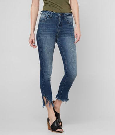 Mavi Tess High Rise Ankle Skinny Stretch Jean