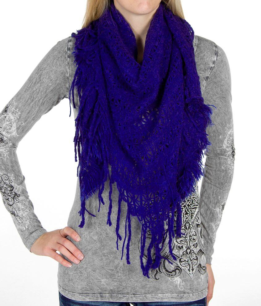 BKE Triangle Scarf front view
