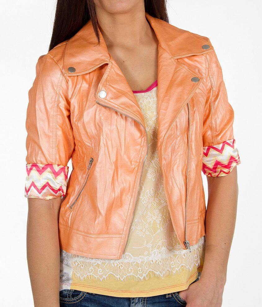 Daytrip Asymmetrical Jacket front view
