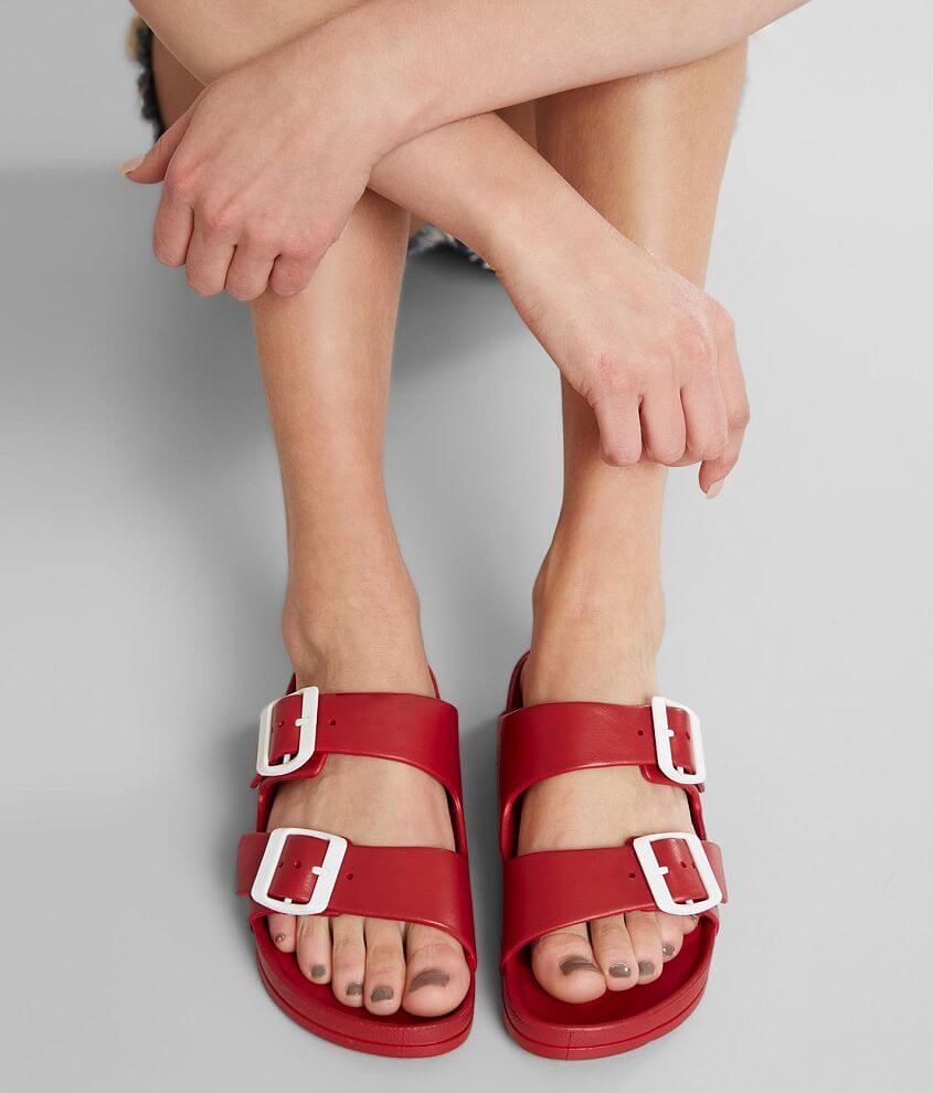 Adjustable buckle waterproof sandal Padded footbed