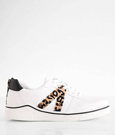 BKE Esanti Pieced Animal Print Sneaker