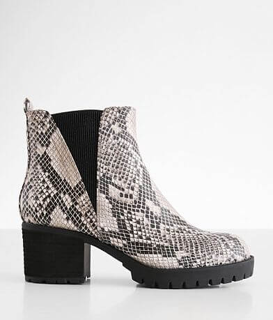 Mia Jody Snake Print Chelsea Boot
