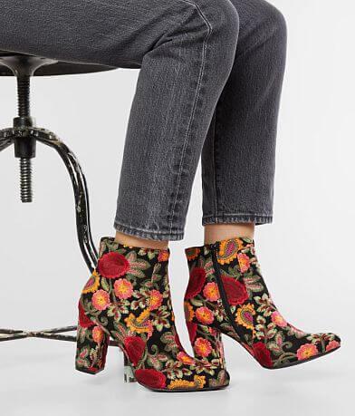 Mia Rosebud Heeled Ankle Boot