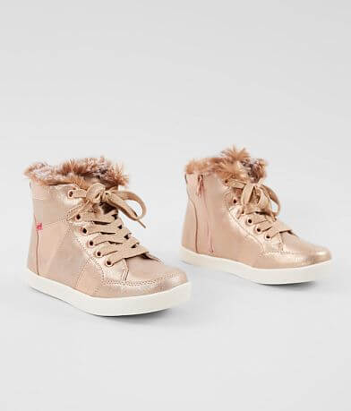 Girls - Mia Dreamy Metallic High Top Shoe