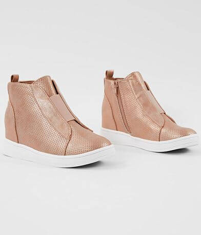 Girls - Mia Gracey Metallic Wedge Shoe