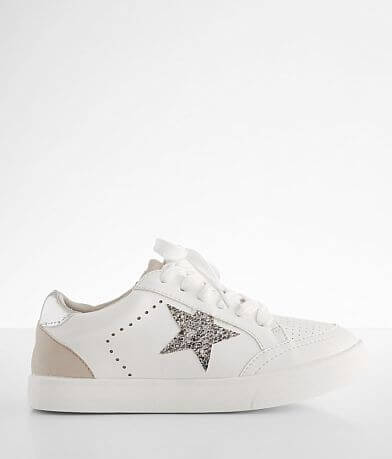 Girls - Mia Alanis Snake Print Star Shoe