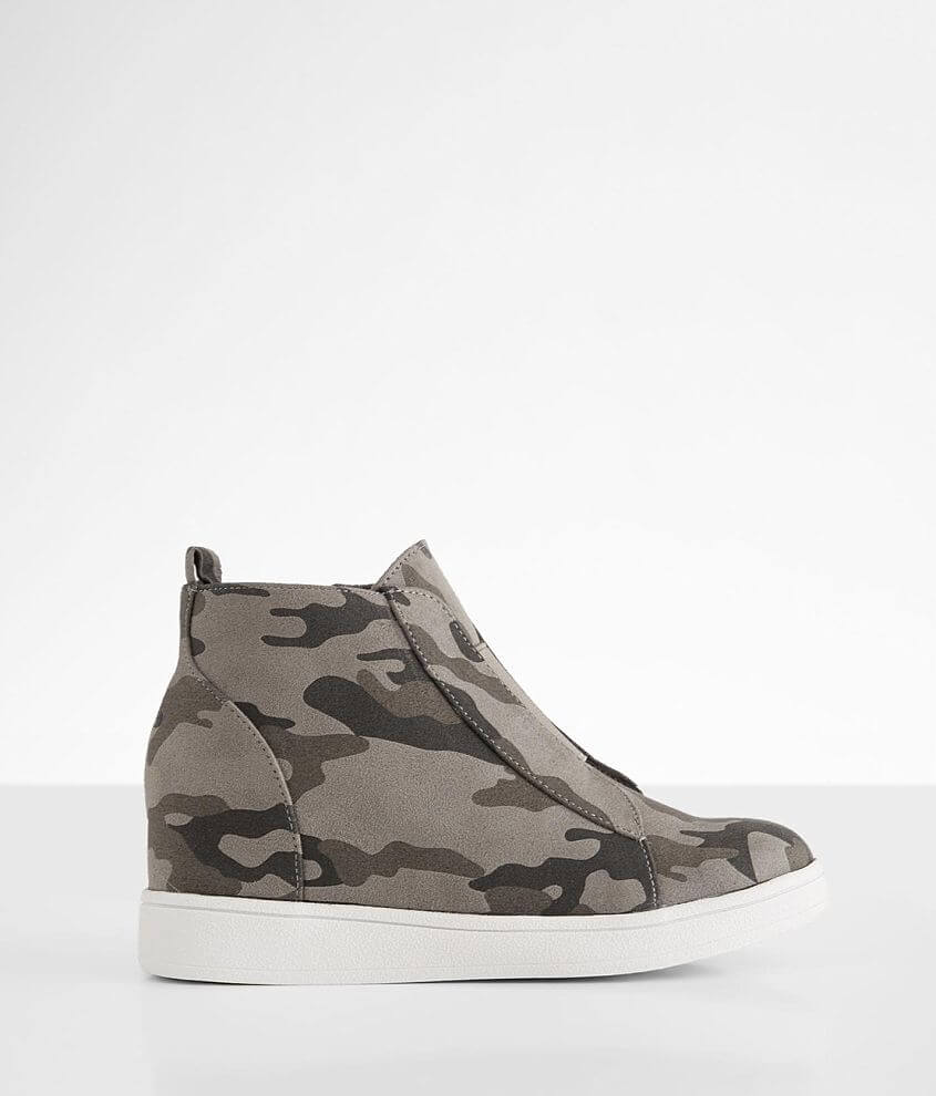 Girls Youth - Mia Gracelyn Camo Wedge Shoe front view