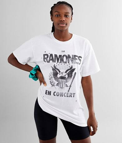 The Ramones Oversized Band T-Shirt