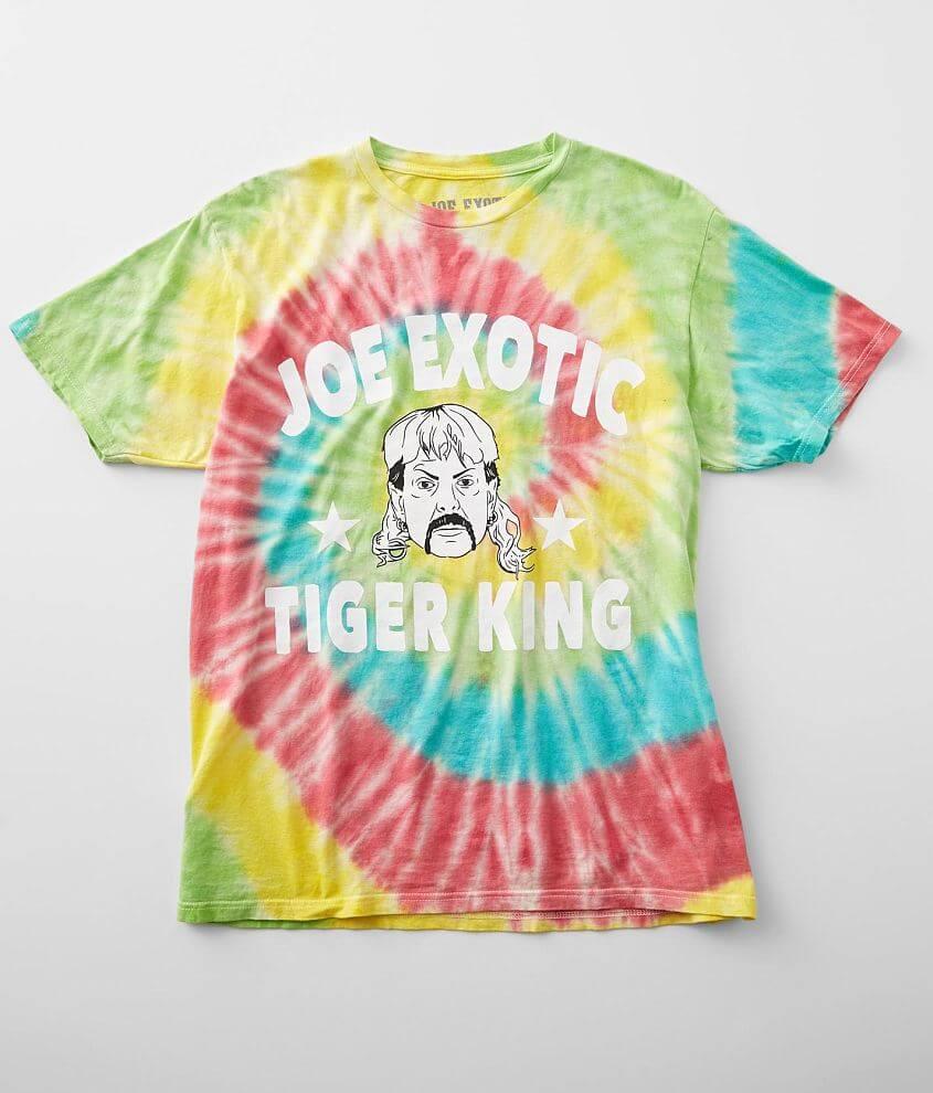 Joe Exotic Tie Dye T-Shirt front view