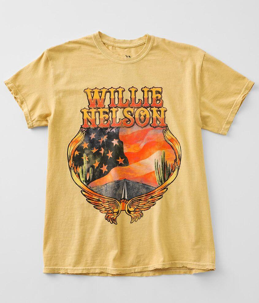 Zion Willie Nelson Band T-Shirt front view