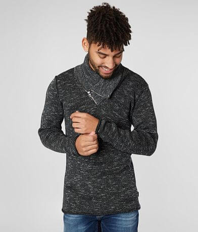 Nova Industries Asymmetrical Quarter Zip Sweater