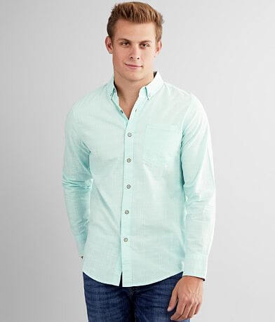 Departwest Solid Woven Shirt