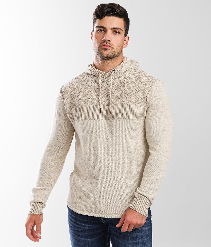 Outpost Makers Textured Hooded Sweater front view