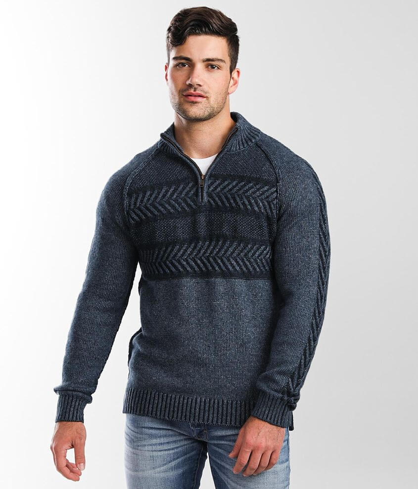 Outpost Makers Quarter Zip Sweater front view