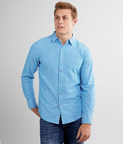 Departwest Textured Woven Shirt