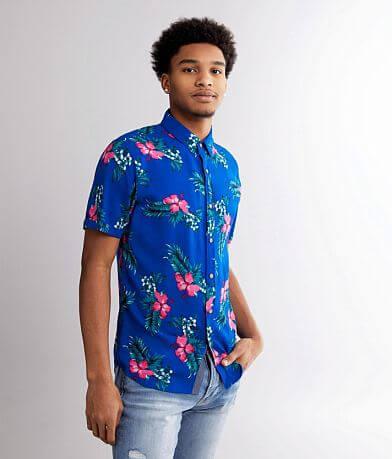 Departwest Tropical Floral Shirt