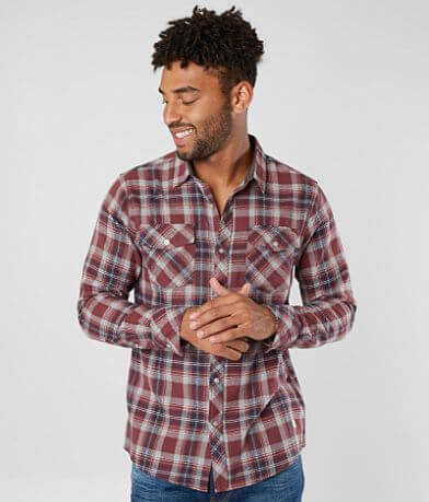 Departwest Woven Flannel Shirt