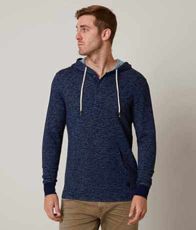Outpost Makers Indigo Henley Sweatshirt