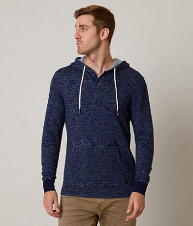 Outpost Makers Indigo Henley Sweatshirt
