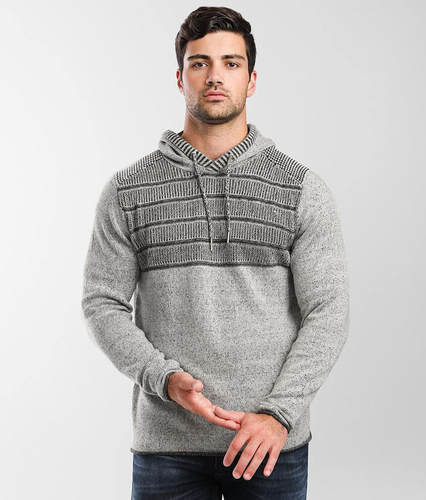 BKE Mason Hooded Sweater front view