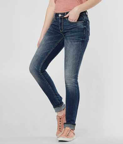 BKE Stella Mid-Rise Skinny Stretch Jean
